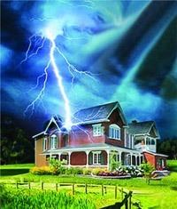 Молниезащита зданий, молниеприемник г.Владивосток