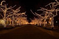 Подключение освещения зданий в Владивостоке
